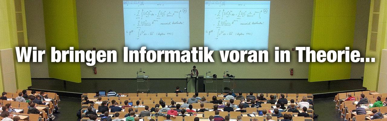 Unsere Mitglieder bringen die Informatik voran in Theorie und Praxis