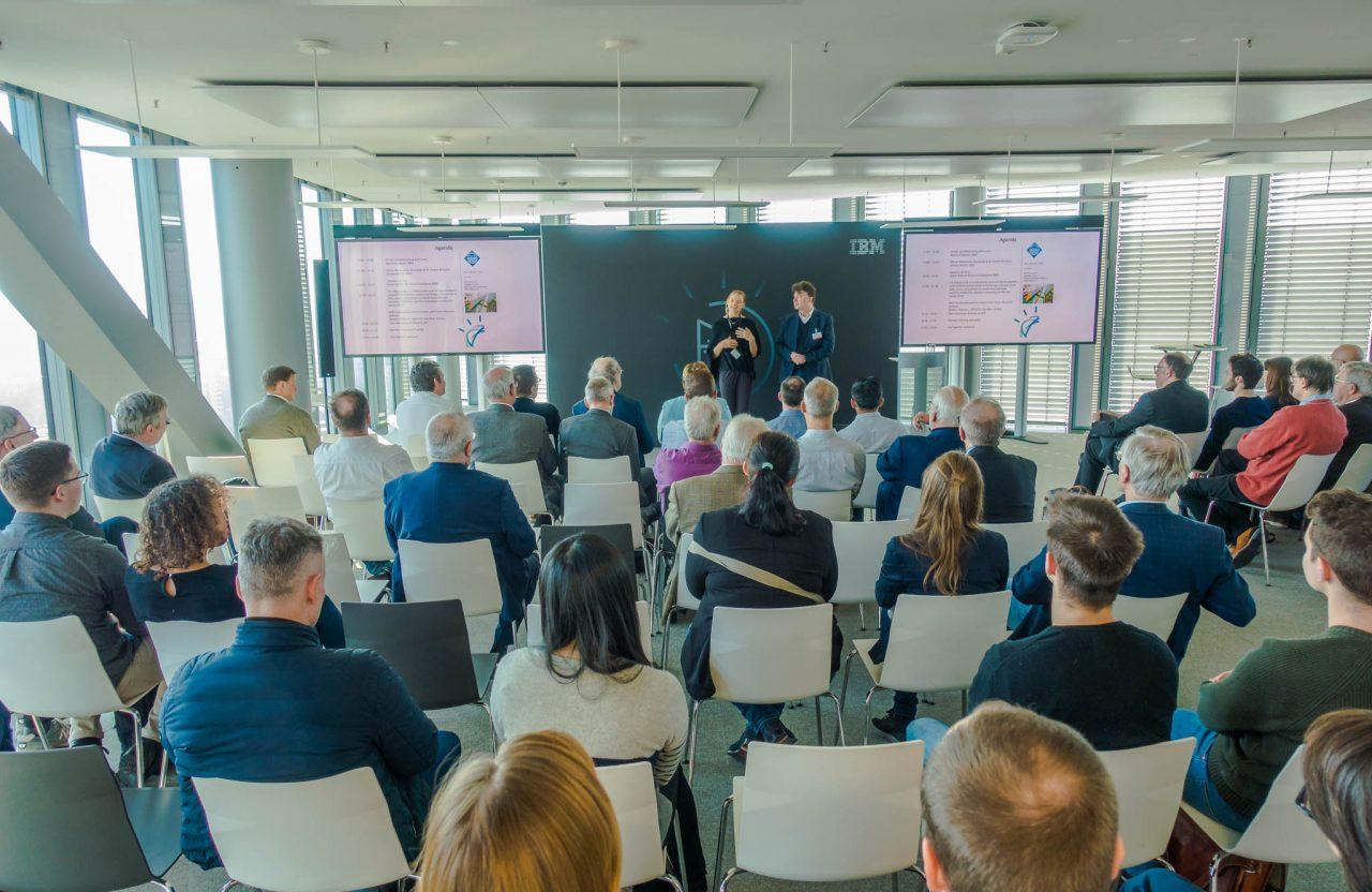 Eröffnung des Mitgliederevents im IBM Watson Center